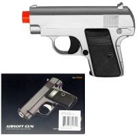 G-9 Silver Metal Pistol