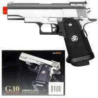 G-10 Silver Metal Pistol