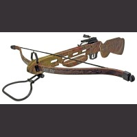 150 Pound Camo Crossbow Rifle