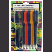 10 Piece Plastic Darts With String