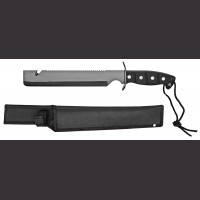 "15"" Black Butcher Hunting Knife"