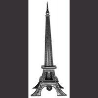 "15"" Paris Tower Knife"
