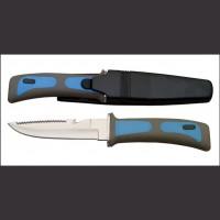 """10"""" Blue/Black Dive Knife"""