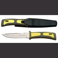"10"" Yellow Dive Knife"