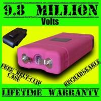 9,800,000 Volt Pink Pitbull Stun Gun
