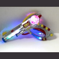 Light UP Space Gun