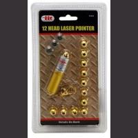 12-Head Laser Keychain