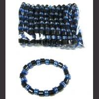 Blue Magnetic Bracelet