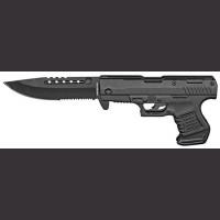 """5"""" Spring Assist Gun Knife"""
