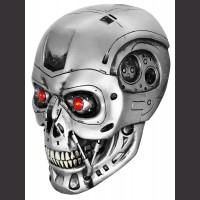 "12"" Terminator Skull Statue"