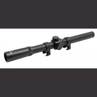 4 X 20 Metal Rifle Scope