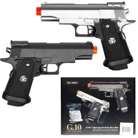 G-10 Metal Pistol Twin Pack