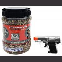 10,000 Piece 12 Gram BB's With Gun
